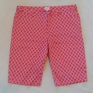 Laundry by Shelli Segal bermuda walking shorts 10